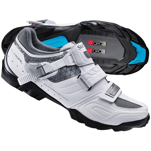 Shimano SH-WM64W dame MTB cykelsko hvid | Shoes and overlays