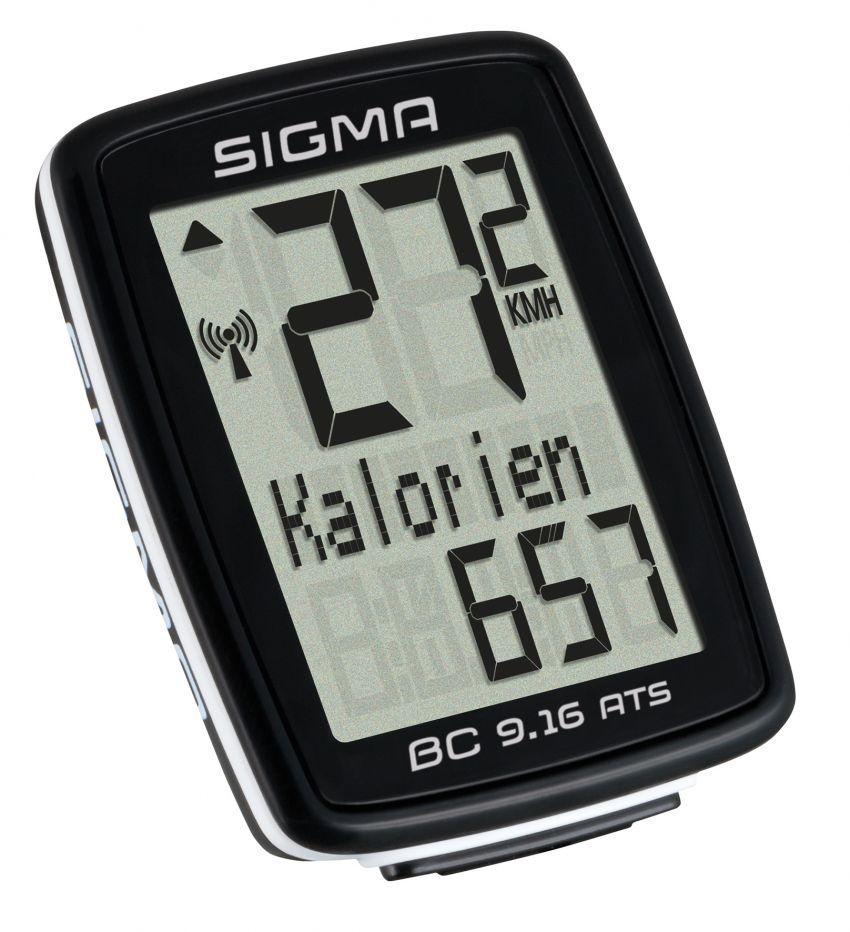 Sigma Sport BC 9.16 ATS cykelcomputer trådløs | Cycle computers