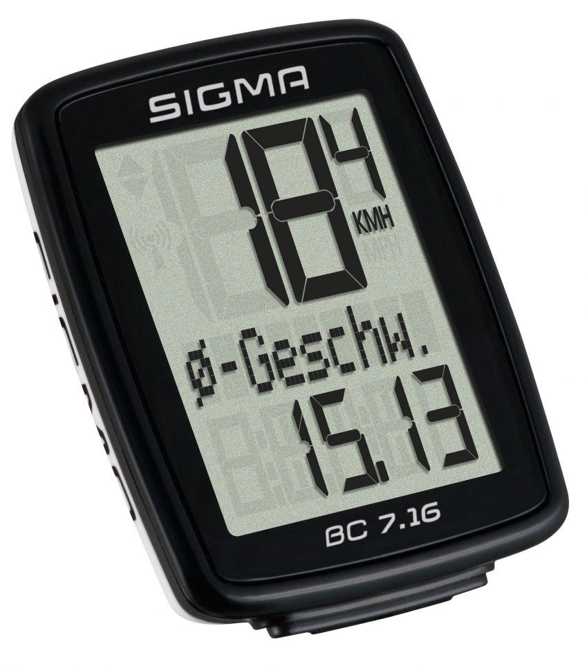 Sigma Sport BC 7.16 Cykelcomputer | Cykelcomputere