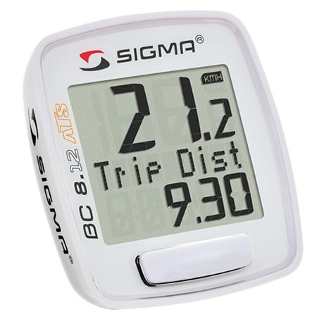 Sigma Sport BC 8.12 ATS trådløs Cykelcomputer | Cykelcomputere