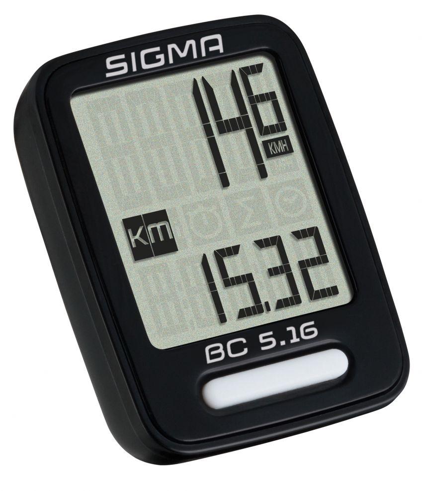 Sigma Sport BC 5.16 Cykelcomputer | Cykelcomputere