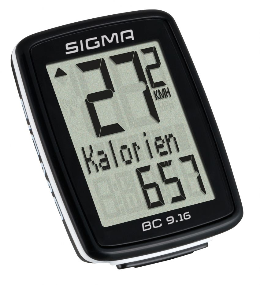 Sigma Sport BC 9.16 cykelcomputer | Cykelcomputere