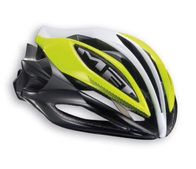 Met Sine Thesis Gul / Hvid / Sort | Helmets
