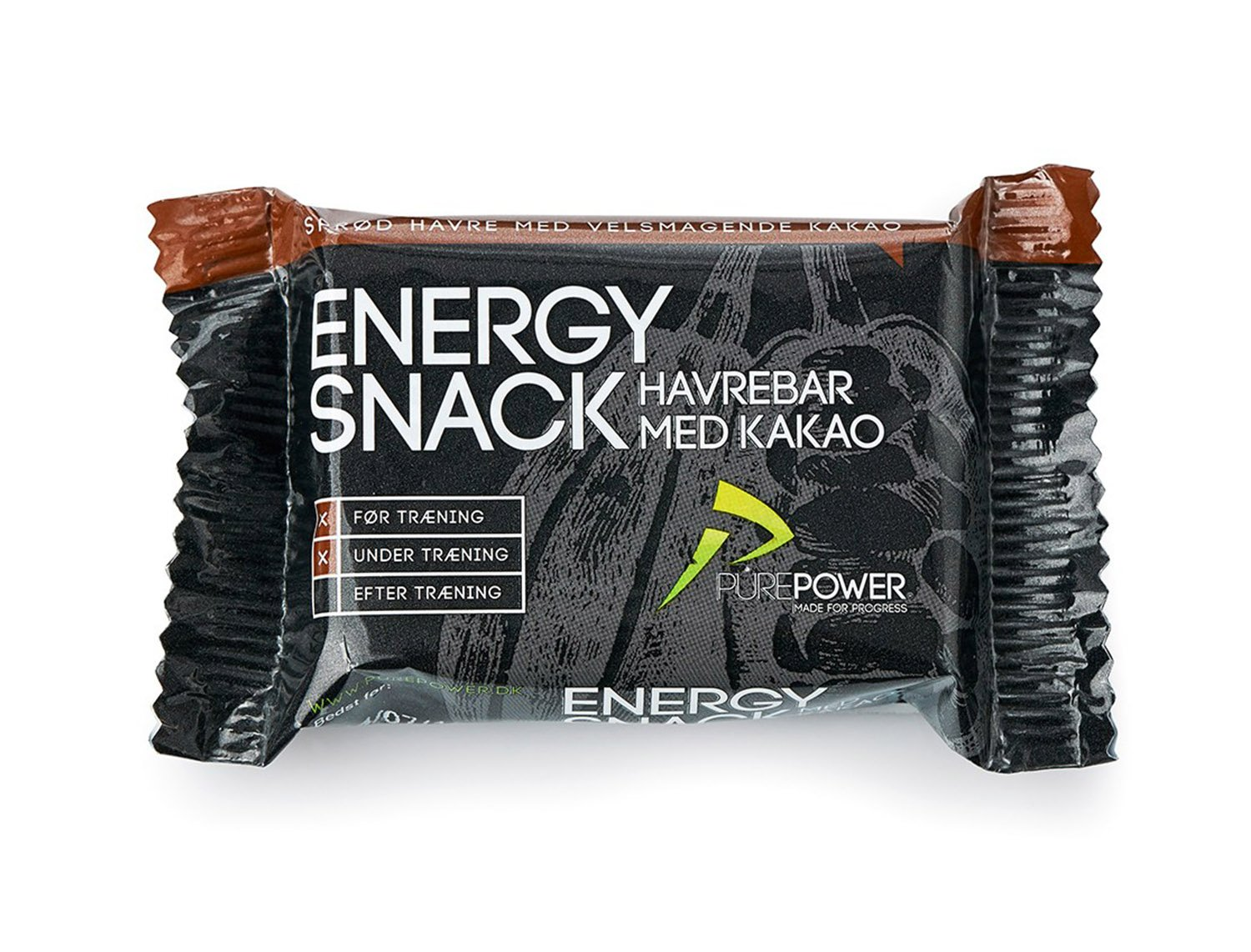 PurePower Energi Bar Kakao 60G
