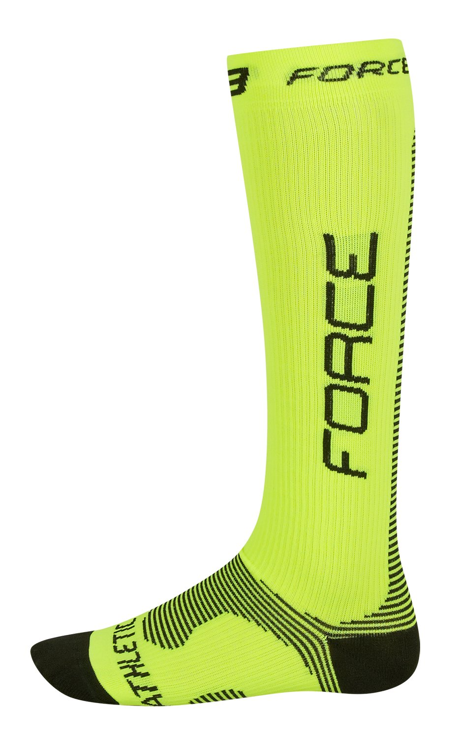 Force kompressionsstrømper Fluo / sort | Compression