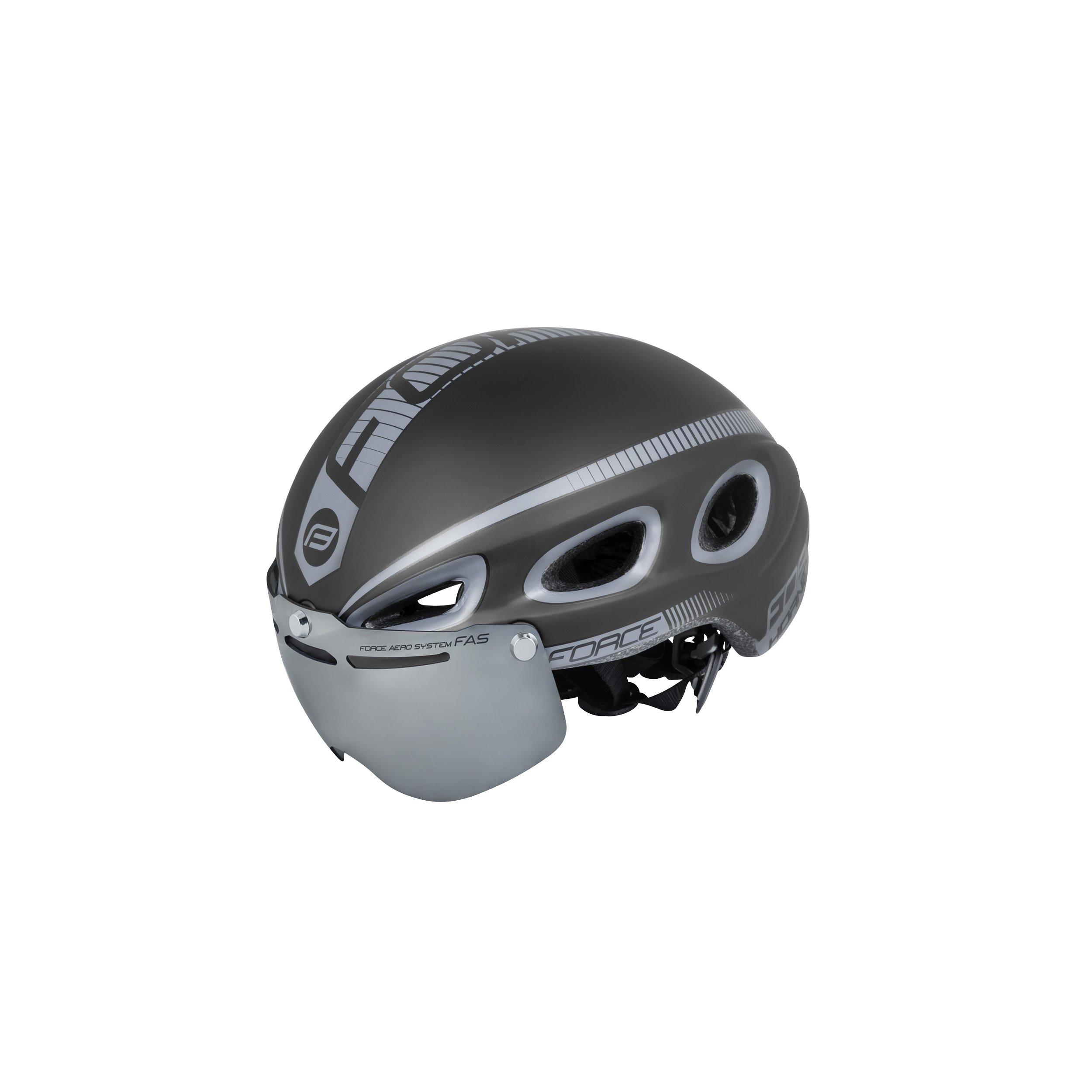 force - Hornet Aerodnamisk Hjelm med Visir