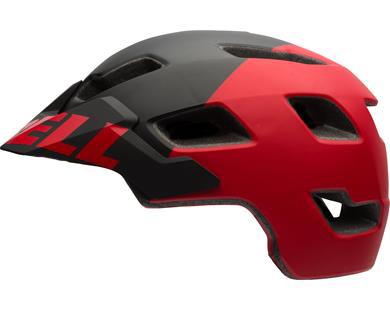 Bell Stoker Mips cykelhjelm - Black/Red 52-56 cm. | Hjelme