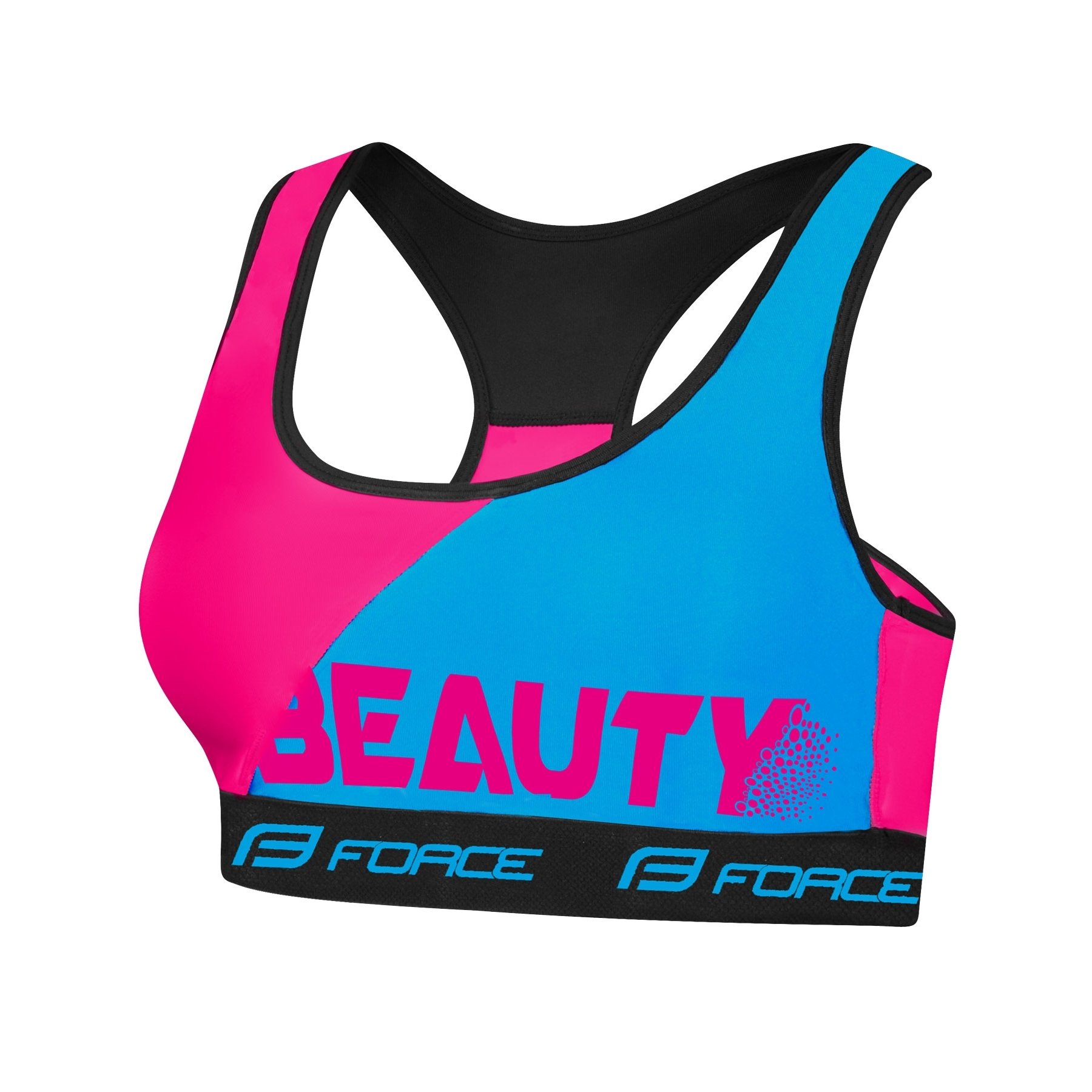 Force Beauty Sports BH - Blå/Pink | Undertøj og svedtøj
