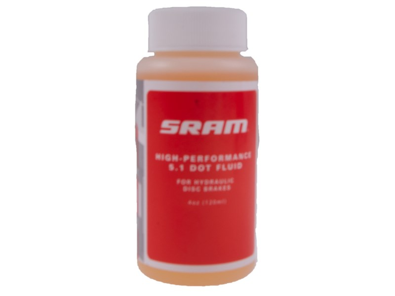 SRAM DOT 5.1 bremsevæske til hydrauliske bremser 118 ml | Brake Cleaner