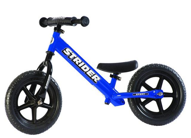 Strider Sport 12 løbecykel blå | Learner Bikes