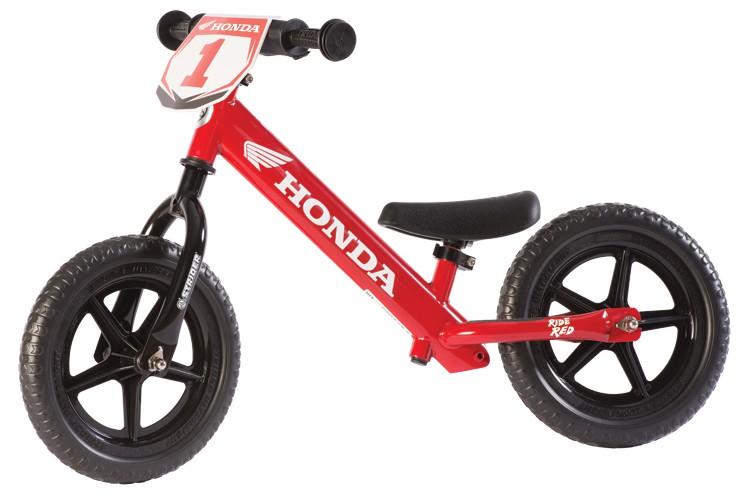 Strider Sport 12 løbecykel rød Honda | Learner Bikes