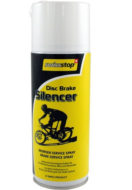 Swissstop Silencer 400ml (MTB Disc) | Brake Cleaner
