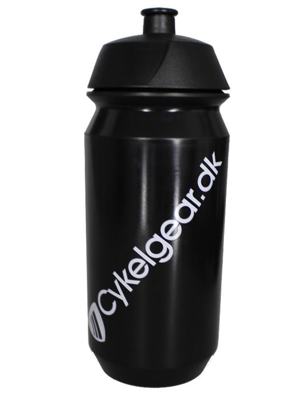 Tacx Cykelgear.dk flaske 500 ml sort