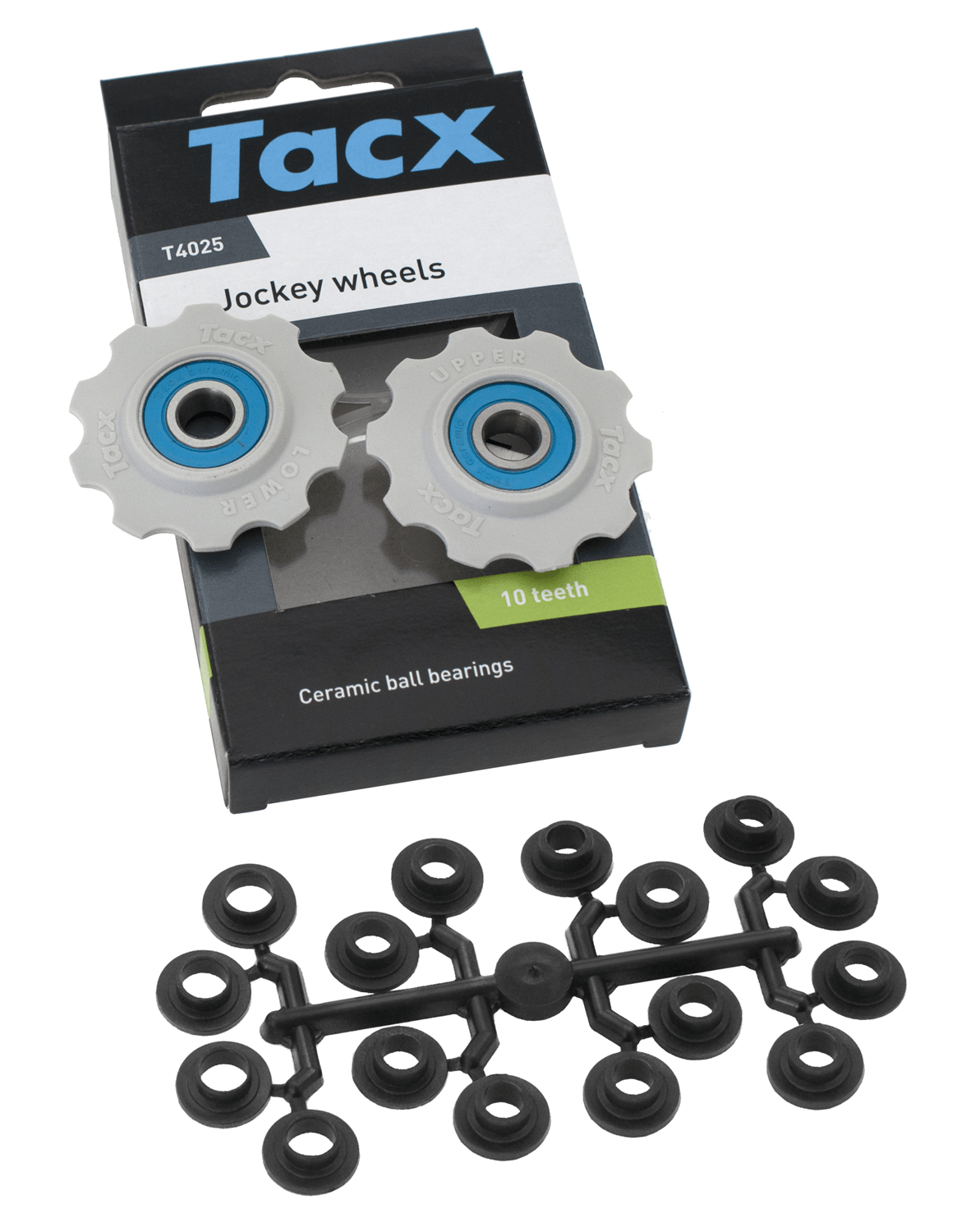 Tacx 10 tands Keramiske Pulley hjul | Pulley wheels