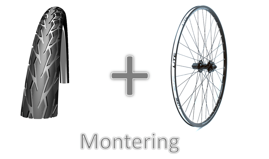 Montering af dæk på hjul | item_misc