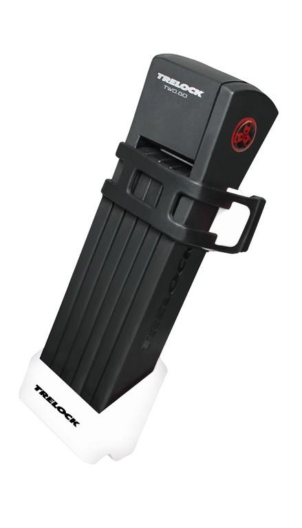 Trelock FS 200 Two Go foldelås sort/pink | Combo Lock