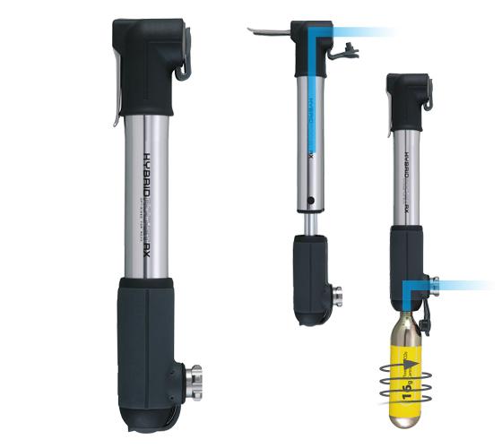 Topeak HybridRocket RX pumpe og co2 pumpe | CO2 Pumper og patroner