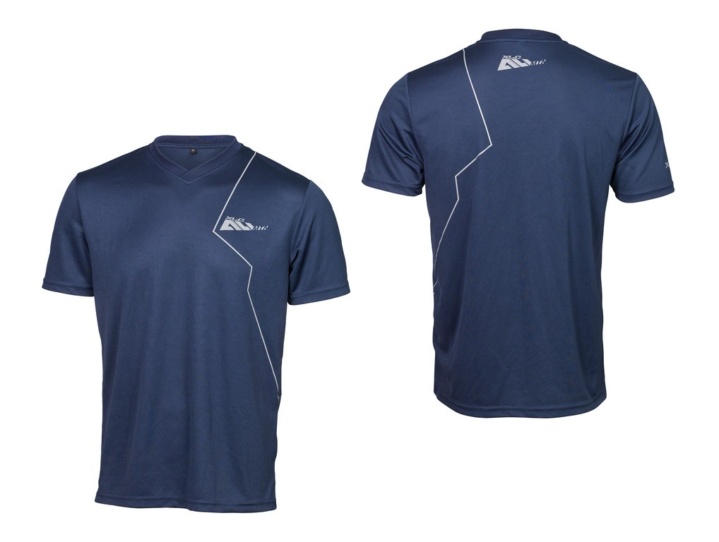 XLC Loose fit T-shirt til cykling og fritid Blå | Trøjer