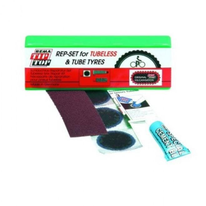 Tip Top reparationssæt til tubeless dæk   Repair Kit