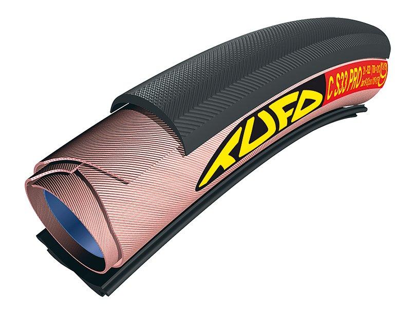 Tufo C S33 Pro Tubular dæk 700 x 21c Til alm. hjul/fælge (Clincher) | Dæk
