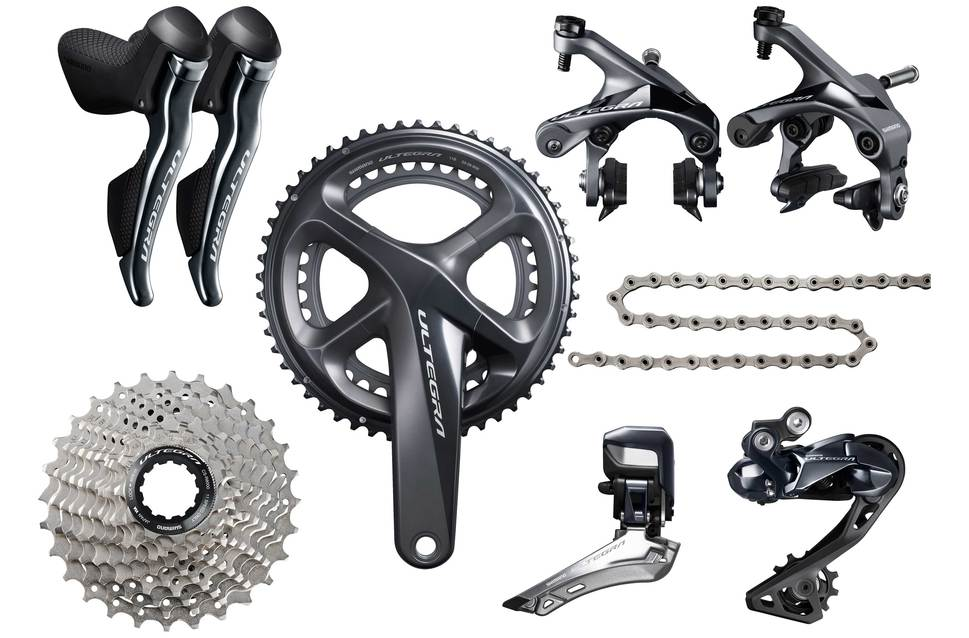 shimano ultegra 8050 di2 gruppe 175mm 50 34 12 25. Black Bedroom Furniture Sets. Home Design Ideas