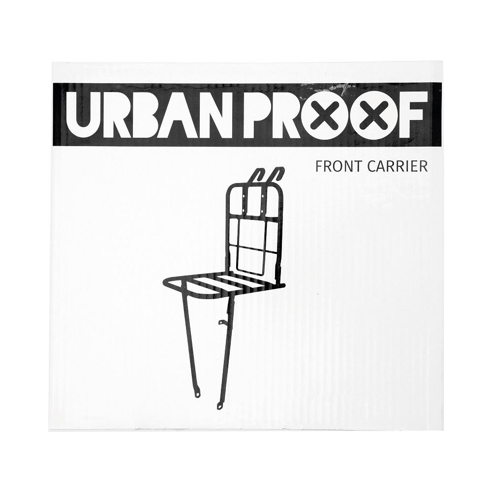 Urban Proof mat sort frontlad | City-cykler
