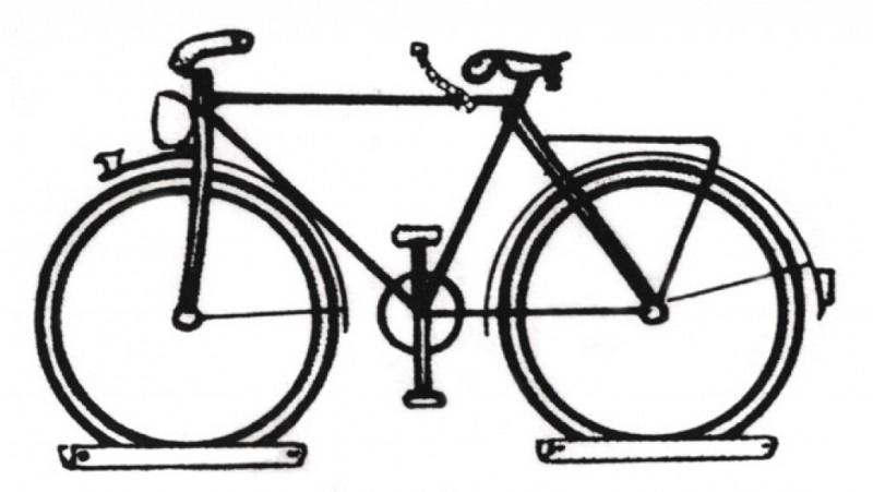 Geida Cykel vægophæng til alle slags cykler - 149,00 : Cykelgear.dk - Cykelgear.dk