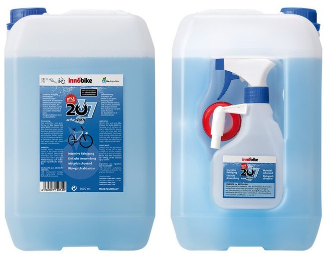 Innobike Cykelvask 6 liter | polish_and_lubricant_component