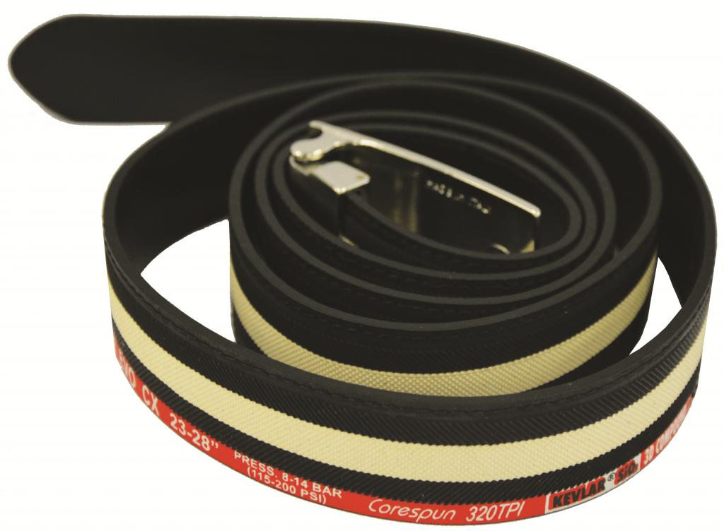 Vittoria bælte lavet af sort / hvid dæk | item_misc