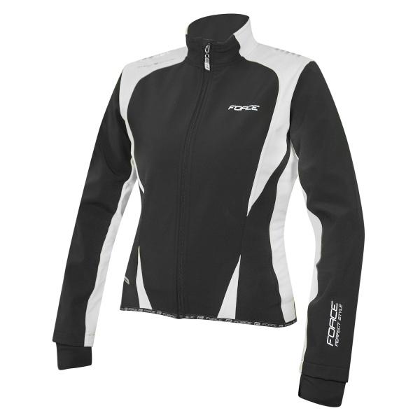 Force X71 Softshell jakke sort/hvid kvinde | Jakker