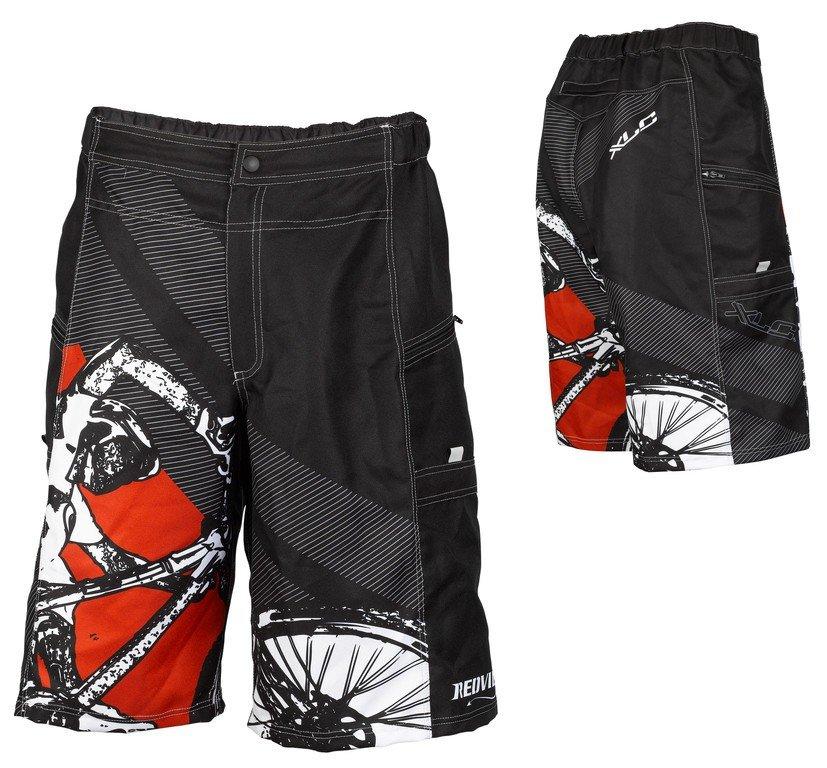 XLC Freeride shorts rød med indlæg | item_misc