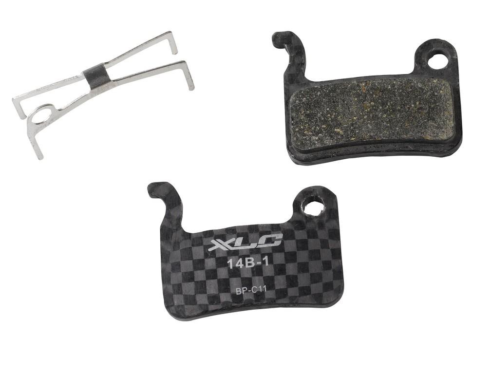 XLC bremsekodser til Shimano XTR, XT og Saint Carbon | Bremseskiver og -klodser
