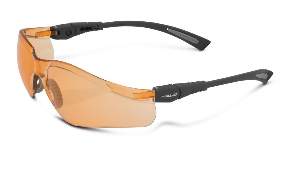 XLC Borneo sort/orange solbrille | Briller
