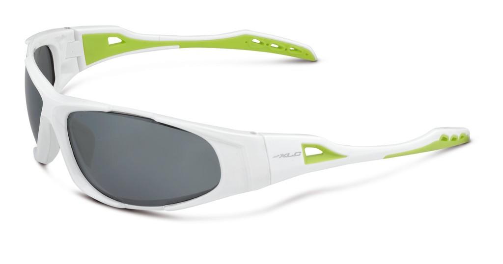 XLC Sulawesi hvid/grøn solbrille | Briller