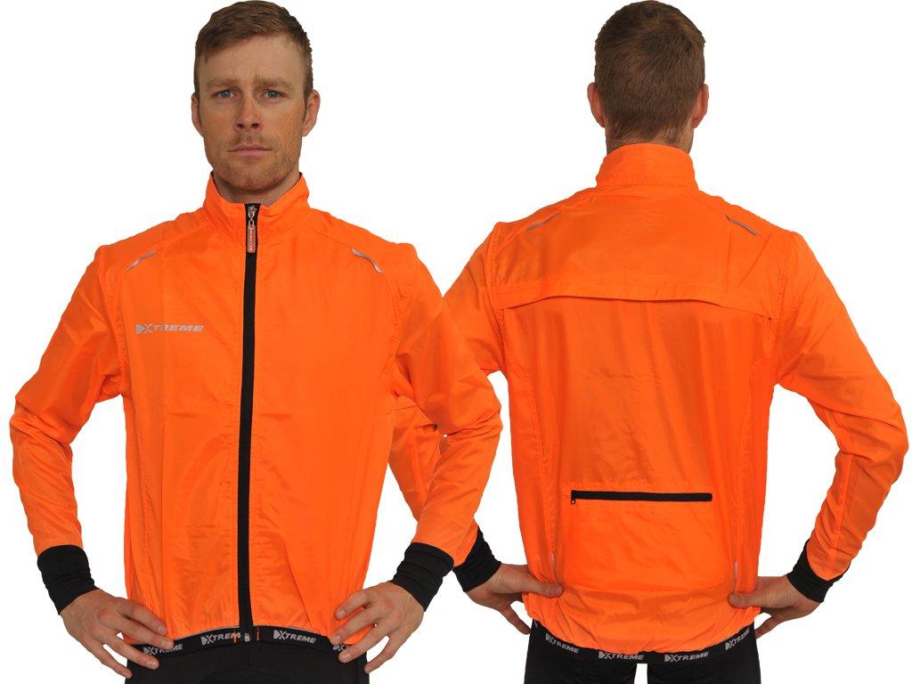 Xtreme X-Screen orange vindjakke | Jackets